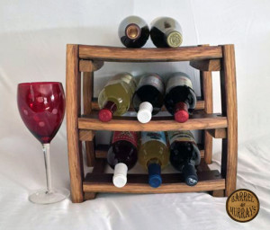 Countertop Wine Rack front