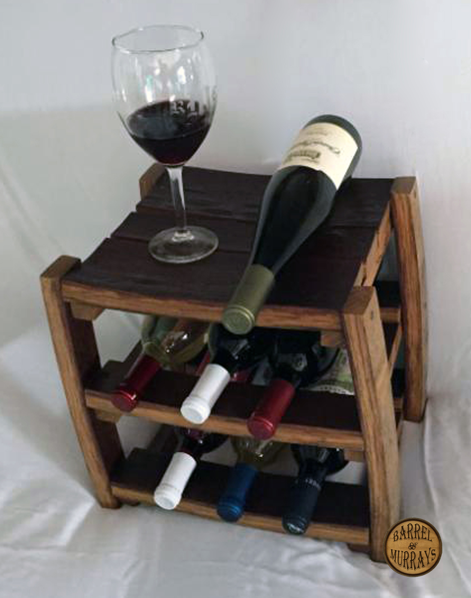 Counter Top Wine Rack Barrel Of Murrays