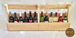 Pallet 12 Bottle Wine Rack