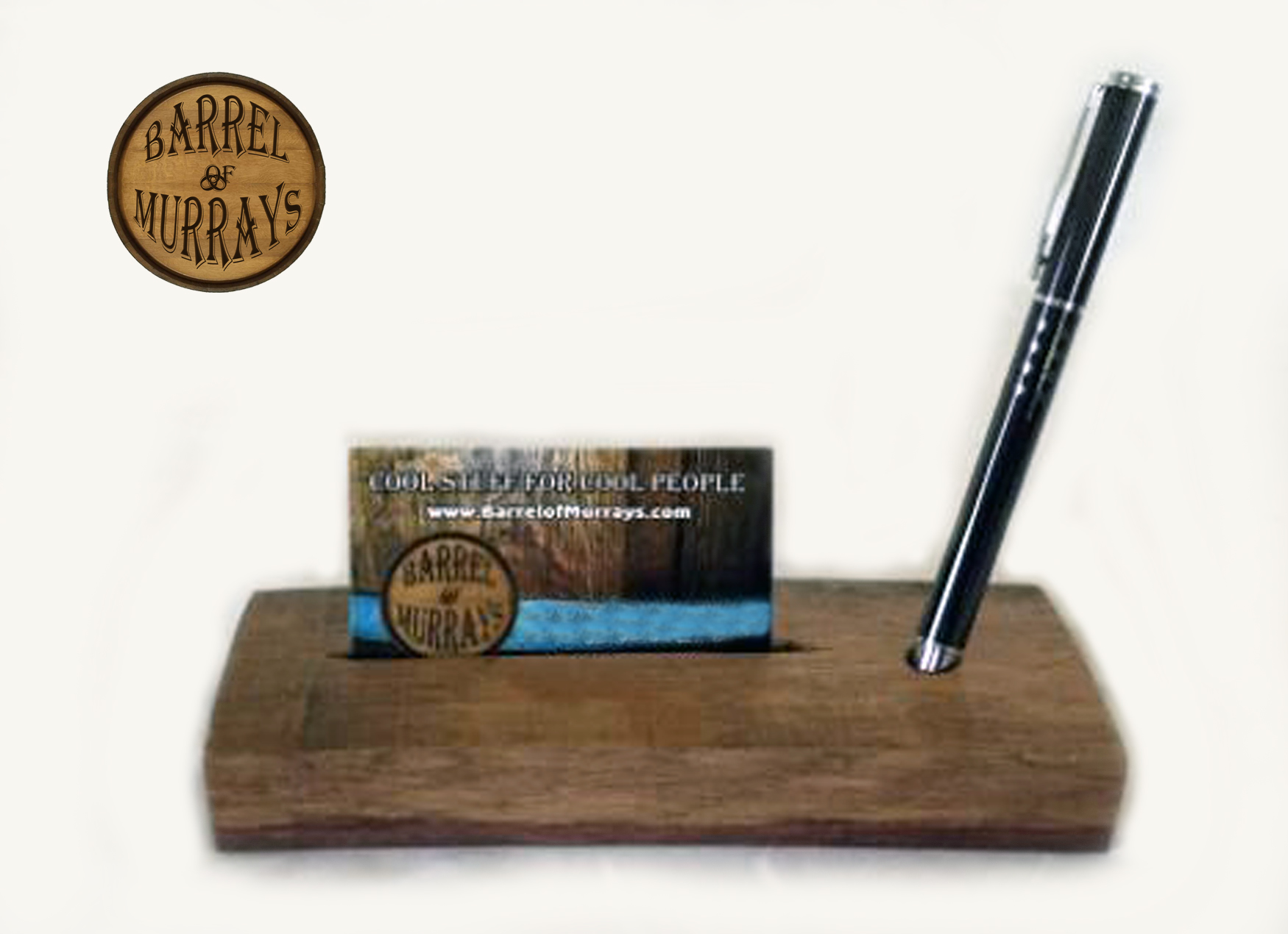 Business Card Holders Barrel Of Murrays