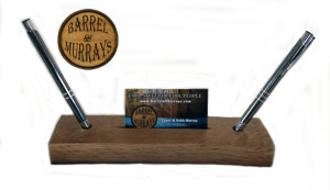 Business Card Holder 2 Pen